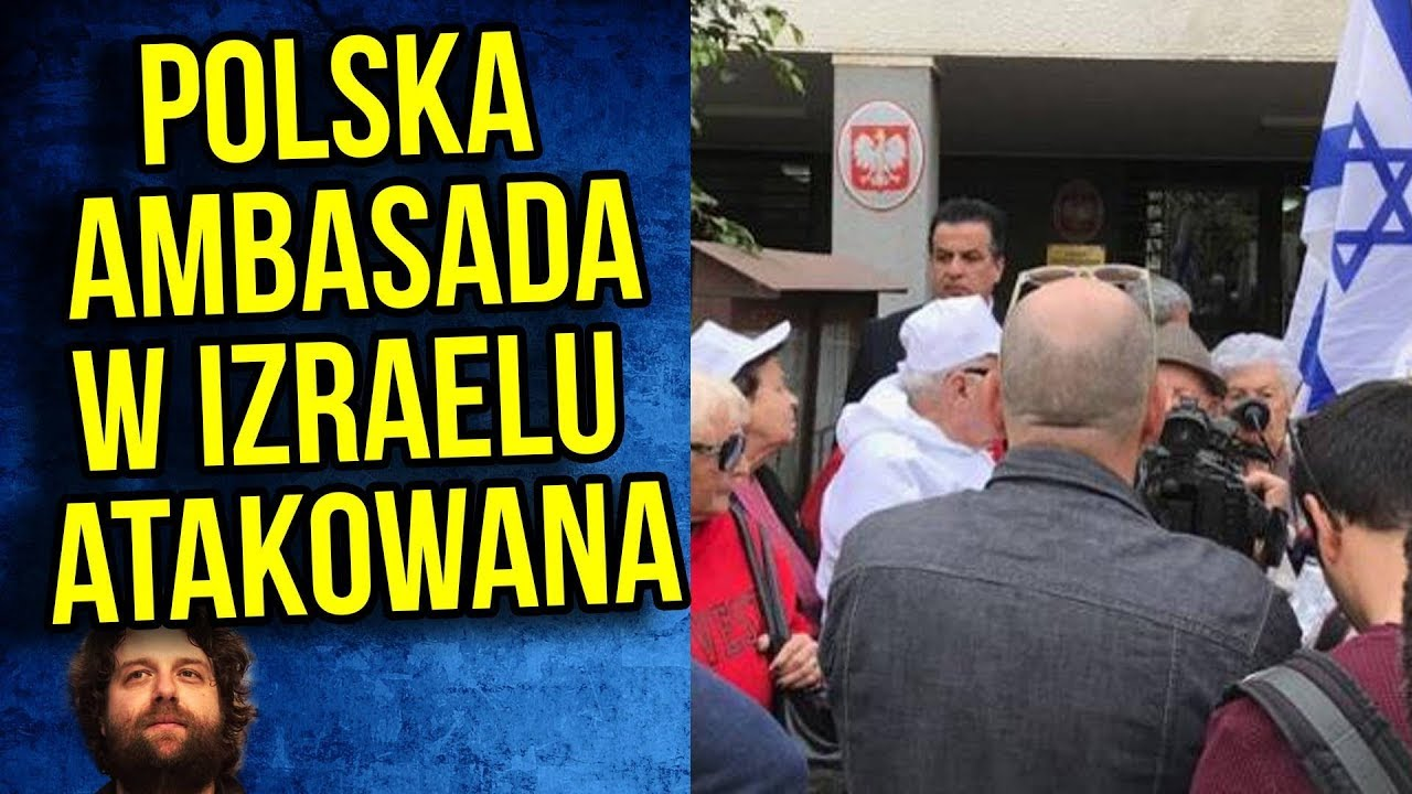 SKANDAL Polska Ambasada w Izraelu Atakowana. Demonstranci Wtargnęli na Teren.