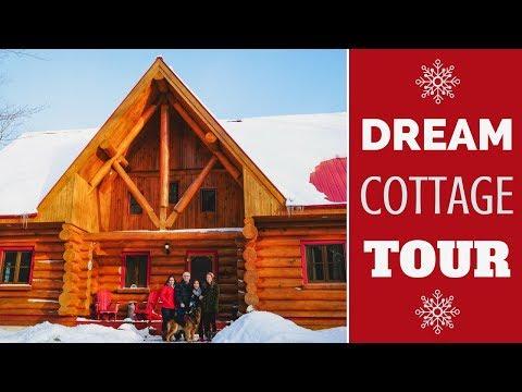Winter Canadian Cottage Tour