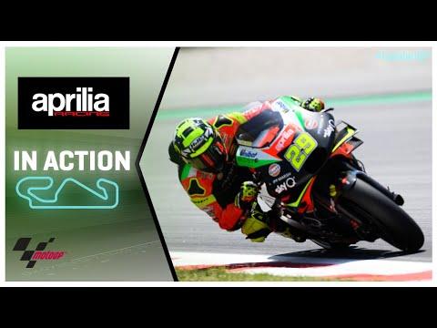 Aprilia in action: Gran Premi Monster Energy de Catalunya