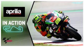homepage tile video photo for Aprilia in action: Gran Premi Monster Energy de Catalunya