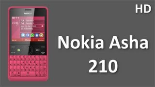 Nokia Asha 210 Mobile Price and Specifications with WhatsApp, Youtube