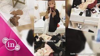 Model Stefanie Giesinger lässt sich gehen!