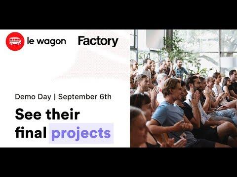 Coding Bootcamp Berlin | Le Wagon Demo Day - Batch #288