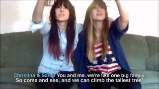 Above All That is Random 6 - Christina Grimmie & Sarah Happlesful - MP3 DOWNLOAD LINK
