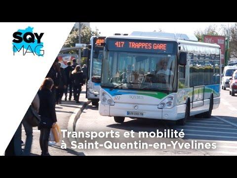 SQY Mag – Transports et mobilité à Saint-Quentin-en-Yvelines