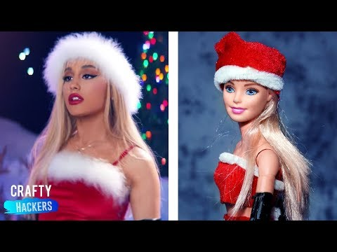 Ariana Grande- thank you, next Looks For Your Barbie Doll | Crafty Hackers Barbie Hacks and Crafts