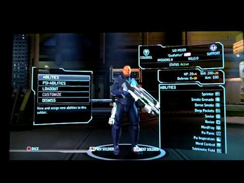 Xcom: Enemy Unknown Super Solider Easter Egg/Cheat Code