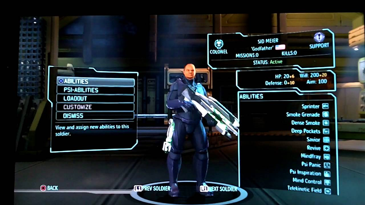 Xcom enemy unknown super solider easter egg cheat code for Portent xcom not now