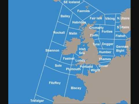 Stephen Fry reads the Shipping Forecast