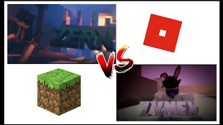 INTRO ROBLOX VS INTRO MIMECRAFT - INTRO C4D SO S-NH - KEYNOXRX!
