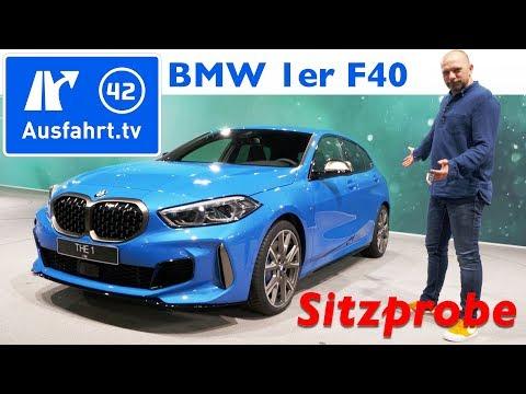 2019 BMW 1er (F40) M135i xDrive - Weltpremiere, Sitzprobe, kein Test