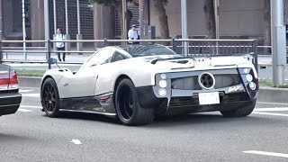 【東京】スーパーカー目撃, サウンド/Supercars sound in Tokyo. Zonda F, Aventador, F12, 488, and more‼️ #スーパーカー