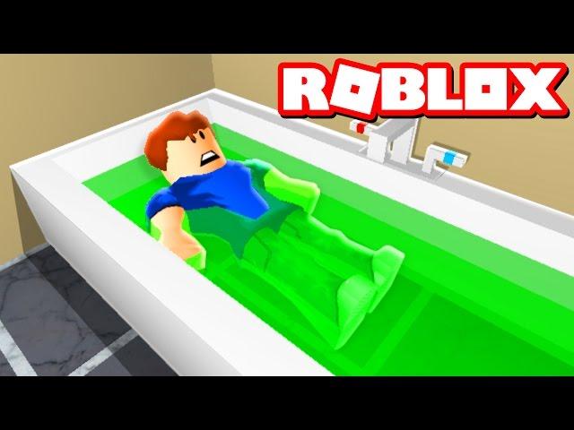 Denis Is Stuck In Roblox Prison Gaiia Escape The Slime Bath In Roblox Youtube
