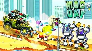 МАШИНКИ / MAD DAY / Безумный день ПРОХОЖДЕНИЕ / игры про машины / видео для детей / kids games car