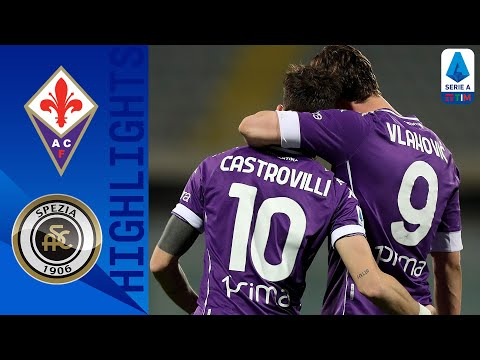 Fiorentina Spezia Goals And Highlights