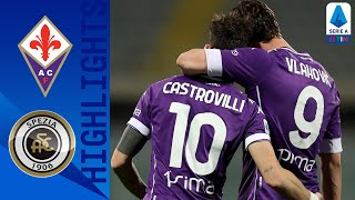 Fiorentina 3-0 Spezia | Fiorentina take all 3 points in their tie against Spezia | Serie A TIM