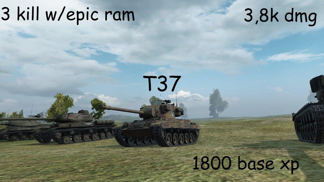 T37 dohazování wot