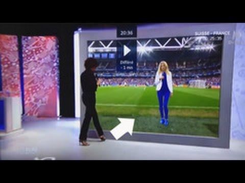 """Una presentadora de TV francesa se """"teletransporta"""" desde el plató al campo thumbnail"""