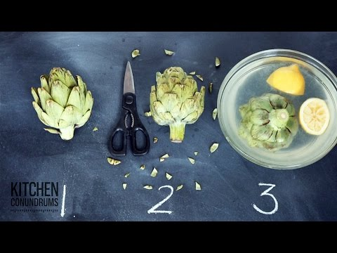 How To Steam And Eat An Artichoke - Kitchen Conundrums With Thomas Joseph