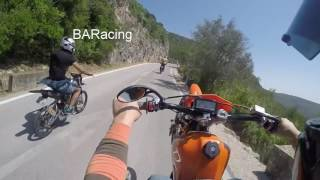 Yamaha dt 100 cc By BARacing VS Dukapa Ride Serra Arrábida Sesimbra