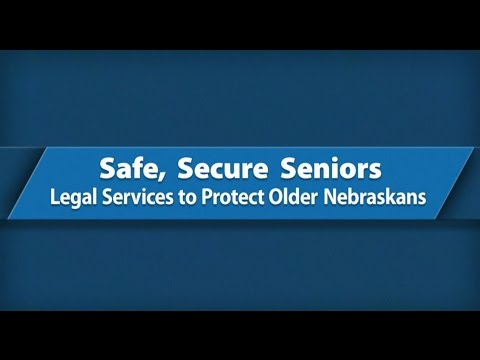 Safe, Secure Seniors: Legal Services