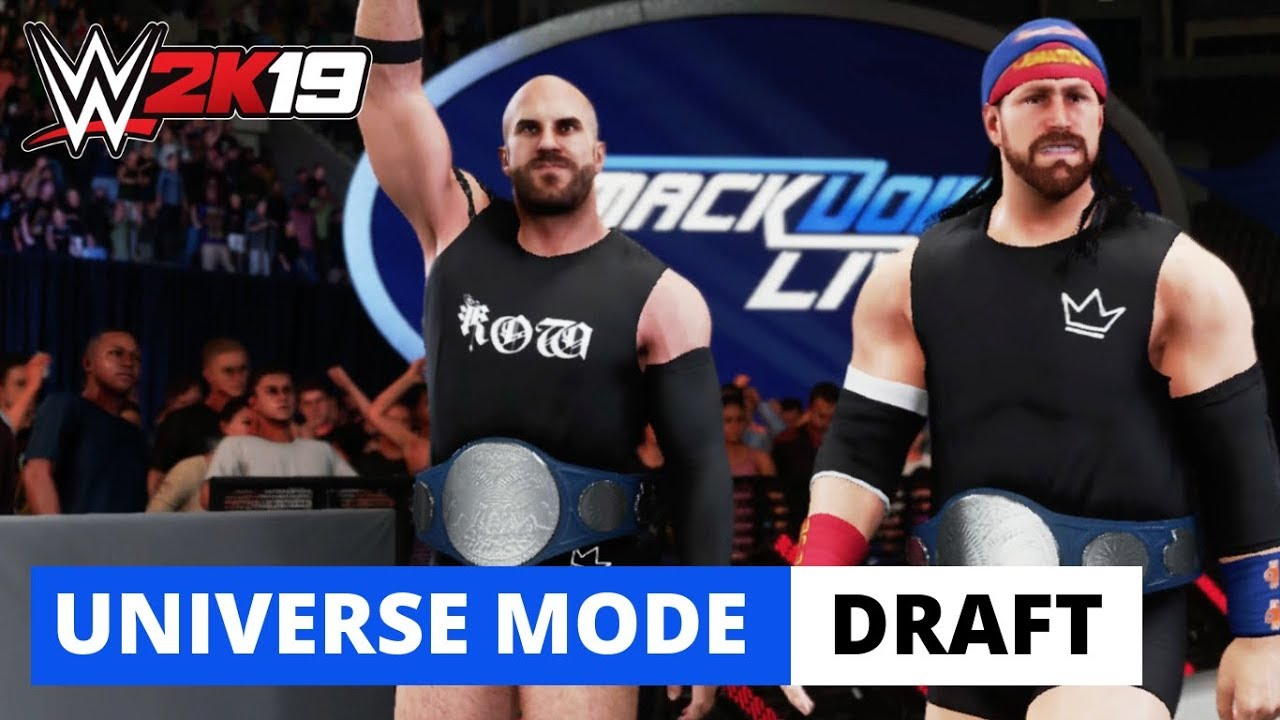 WWE 2K19 SD Live Top Draft Picks + *NEW* General Manager 😵