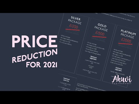 Ahuvi Photography - Price reduction for 2021