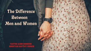 """""""The Difference Between Men and Women"""" 