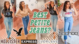 ULTIMATE PETITE JEANS GUIDE // the fitting room comparison you NEED! ♡