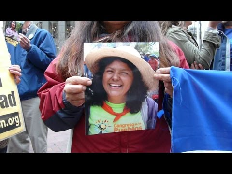 USA Support of Honduras Coup Leads To Death Of Berta Caceres 2016-03-04