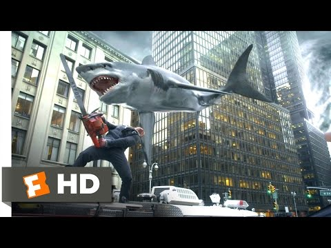 Sharknado 2: The Second One (7/10) Movie CLIP - Let's Go Kill Some Sharks! (2014) HD