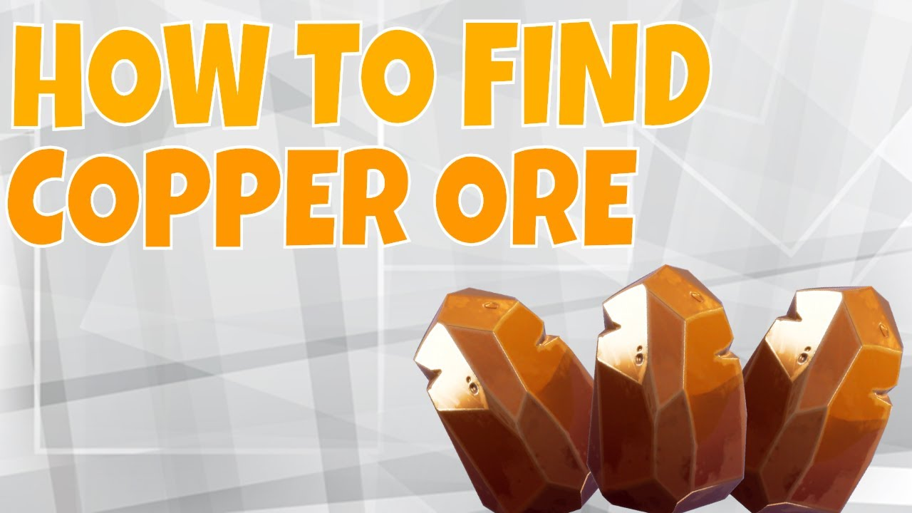 fortnite how to find copper ore farming guide fortnite save