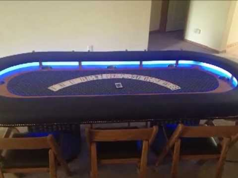 Poker Table Build By Aaron Youtube