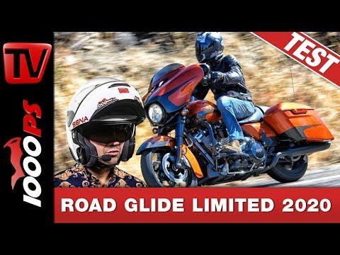Harley-Davidson 2020 - Neues Elektronikpaket für Touringmodelle - Test Road Glide Limited 2020