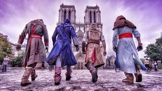 Assassin's Creed Unity Meets Parkour in Real Life - 4K!(Watch the behind the scenes in the link below! http://youtu.be/gJEJbLxwR0s Check out the trailer for Assassin's Creed Unity, which comes out on October 28 on ..., 2014-07-22T20:35:37.000Z)
