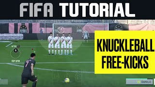 Master the Knuckleball Free-Kick on FIFA 20