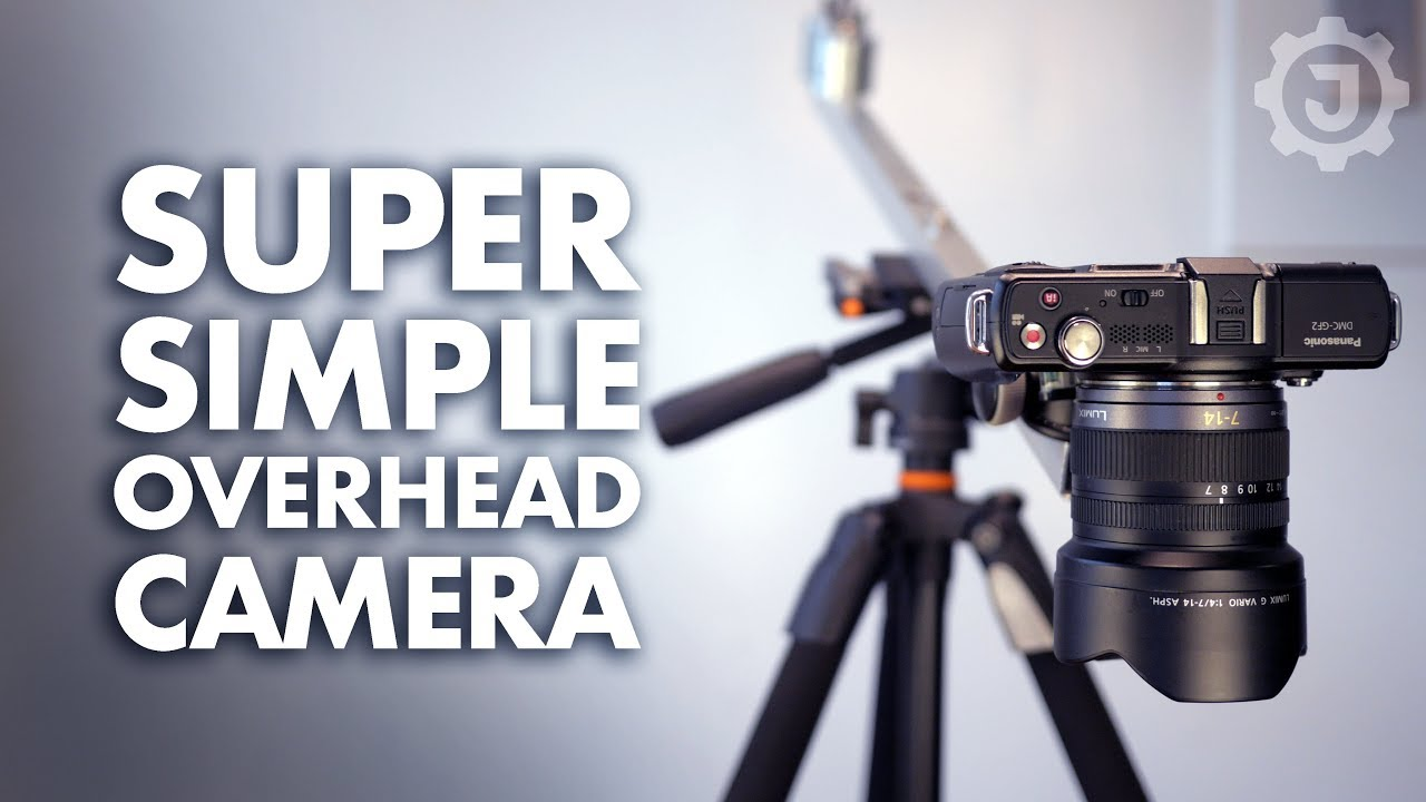 Simple Diy Overhead Camera Rig Mount Setup