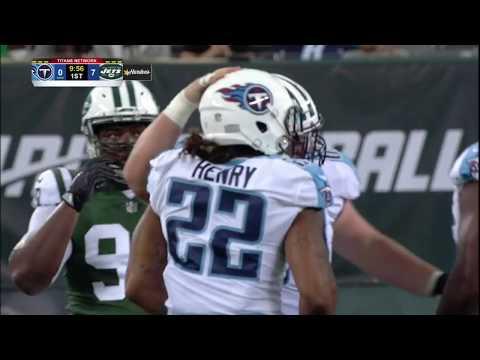 Derrick Henry Powerful Back To Back Runs |Jets vs Titans Preseason|
