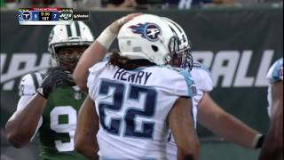 Derrick Henry Powerful Back To Back Runs  Jets vs Titans Preseason 