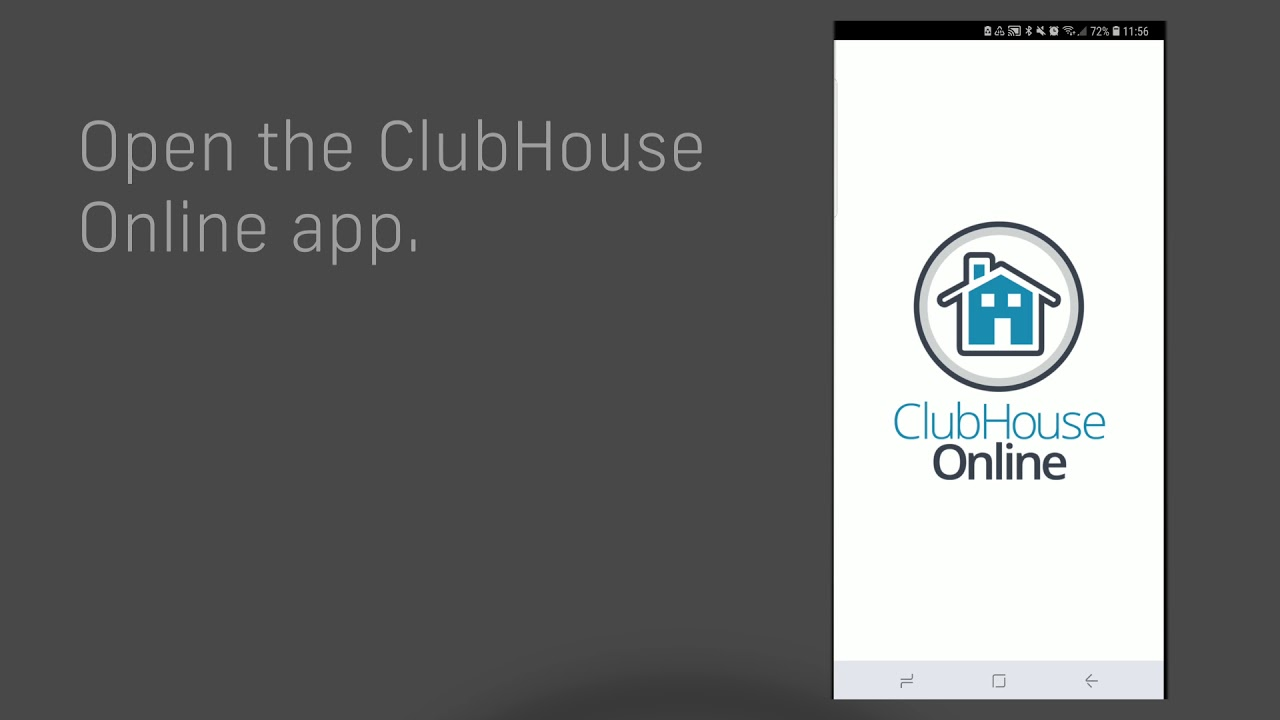 ClubHouse Online Mobile App - Android Instructions - YouTube