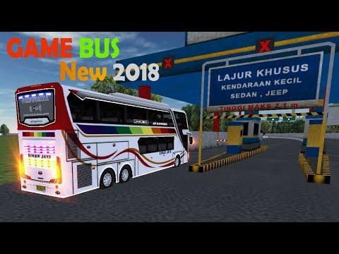 Review Mobile Bus Simulator Sinar Jaya Full Lampu Led | Bus Simulator Android