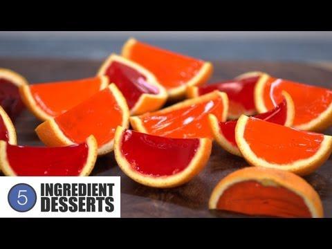 Orange Wedge Jello Shots | 5 Ingredient Desserts