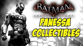 Batman Arkham Knight All Riddler Trophies Panessa Studio Riddles Breakable Objects Collectibles