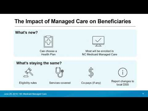 The Enrollment Broker And NC Medicaid Managed Care