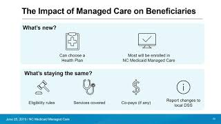 The Enrollment Broker aฑd NC Medicaid Managed Care