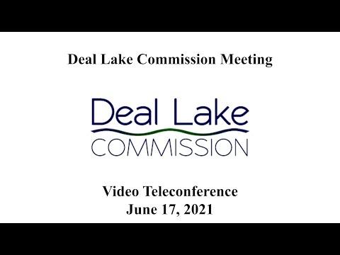 Deal Lake Commission Meeting - June 17, 2021