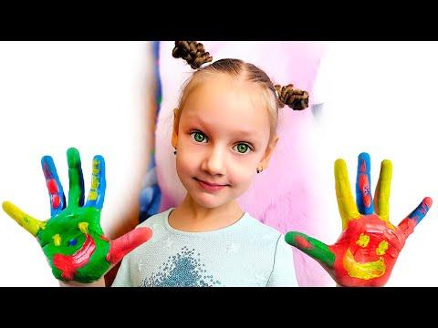 Новые правила поведения для родителей и детей - весёлая история Ястаси и папы !