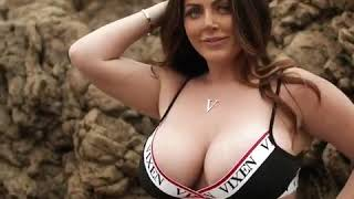 A Sexy girl On The Beach-Sophie dee-Hottest queen latest 2019 video