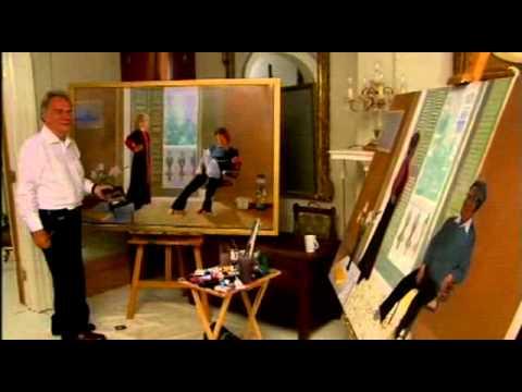 Jim Carter and Imelda Staunton in Fame In The Frame clip 2
