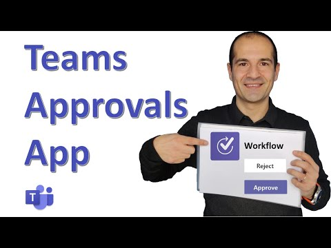 How to use the Approvals App in Microsoft Teams 👍🏼👎🏼 [PREVIEW]
